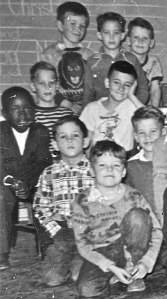 Buddies forever ... top center Ray, top left Joe