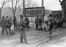 Entering Koblenz