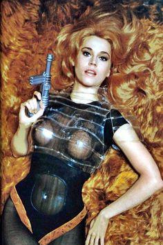 Barbarella, fantasy girl as portrayed by fantasy girl Jane Fonda